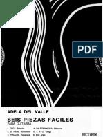 Adela Del Valle - Seis Piezas Faciles