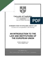 2009 EUI Workbook 2