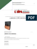 Librero Con Credenza _ Equipa Oficinas