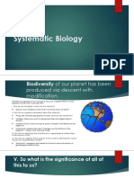 Systematic Biology