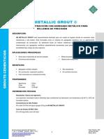 HT NS Metallic Grout - 2016