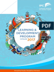Learning Development Program Catalog 2017 (1)