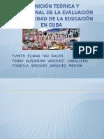 Diapositivas Educacion en Cuba EXPOSICION