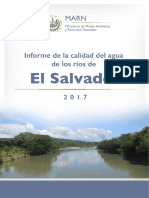 Informe de La Calidad de Agua 2018