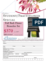 Bach Student and Practitioner Special Offer