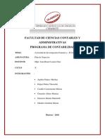 Actividad Investigacion Formativa Plan Negocios II Unidad