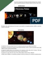 Guia Del Sistema Solar