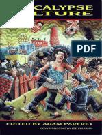 Apocalypse Culture (1987) Edited by Adam Parfrey