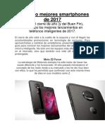 Los Cinco Mejores Smartphones de 2017
