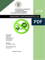 gases contaminantes COX