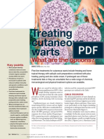 Treating Cutaneous Warts - What Are the Options