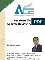 ACE Lit Review