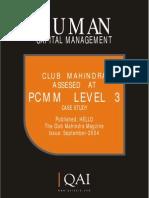 Club Mahindra Case Study