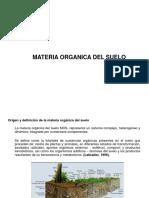 Materia Organica k1-k2