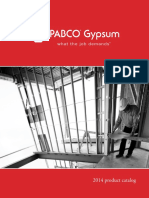 PABCO Gypsum 2014 Product Catalog