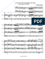 Himno Nacional de Chile (ReM) - Cuarteto de Cuerdas