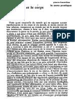 Bourdieu Le Sens Pratique Chapitre-4