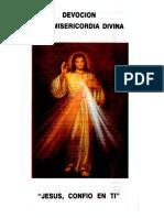 Devocion a La Misericordia Divina