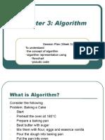 CSC3101 Algorithms