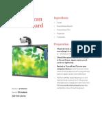 Promethean Active Board Maintaining