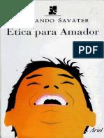 Fernando Savater - Ética Para Amador