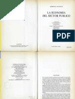 Stiglitz, J. La Economía Del Sector Público (Cap. 1)