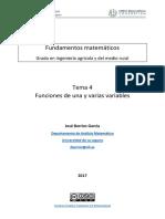 T4 Func Una Varias Variables