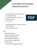 Brain Cutting Manual2015 SCP