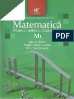 Manual Matematica Clasa a XII-A M1