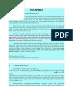 Proposal Mushola Mukadimah