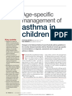 Age Specific Mgt of Asthma in Children