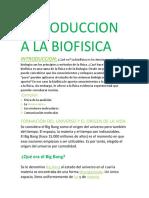 Introduccion a La Biofisica