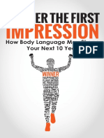 Master the First Impression