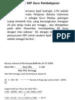 Contoh SKP Guru Revisi