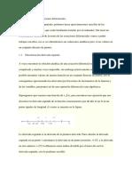 Discretización ecuaciones diferenciales
