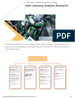 Indian Two Wheeler Industry Analysis Research Report - Fintapp Blog