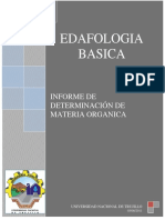 175699860 Informe 13 Determinacion de Materia Organica