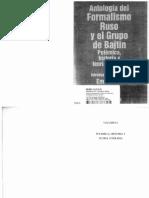 """Boris Eichembaum, """"La teoría del «método formal»"""" (traducción directa del ruso al español)"""