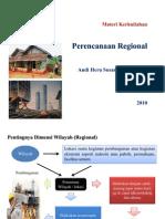 perencanaan regional New