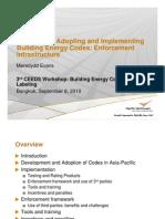 Codes Infrastructure