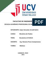 Bocatoma La Huaca