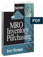 Wireman, Terry - MRO Inventory and Purchasing_ Maintenance Strategy Series (2013, Reliabilityweb com).epub