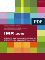 Interdisciplinary Management Research | IMR XIV