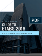 Guide to Designing Structures in Etabs 2016