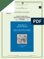 Biografía de Amadou Kandié. Jugador de damas senegalés extraordinario,  durante su estancia en Francia 1894-1895