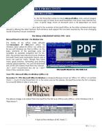 Module II a. Word Processor