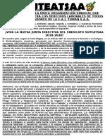 PRONUNCIAMIENTO 2 - SUTEATSAA