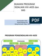 Kebijakan Pengendalian Program      HIV-edit Bdg.pptx