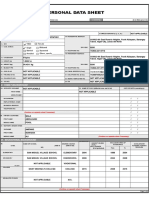 Updated Mohamadalimala Personal Data Sheet 2018