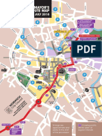 Norwich Lord Mayor's procession route map 2018